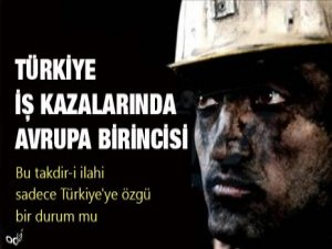 Bir yılda bin 203 işçi yaşamını yitirdi