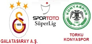 Galatasaray ile Torku Konya spor 25. kez karşılaşacak