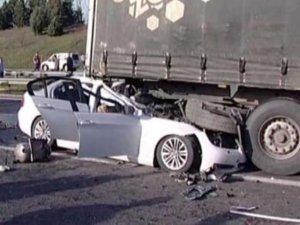 Trafik kazalarında artış