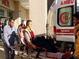 Öğretmenleri taşıyan araç şarampole devrildi: 8 yaralı