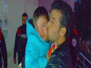 Fidye için kaçırılan Suriyeli çocuk bulundu