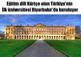 Mezopotamya Vakfı, Diyarbakır'da Kürtçe üniversite  kurulacak