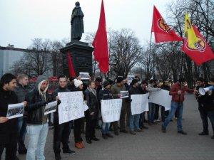 Komkujiya Roboskî li Ûkraynayê hat protestokirin