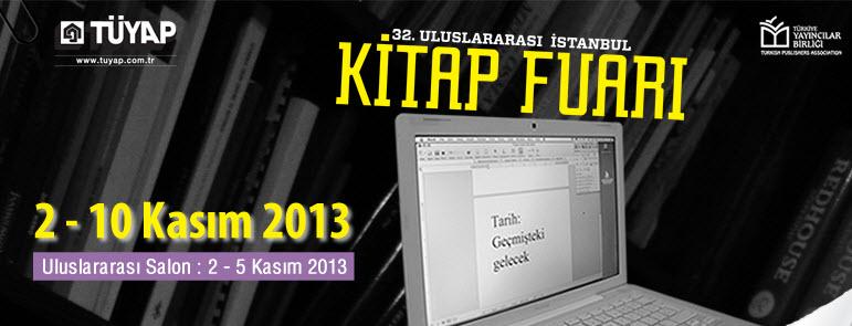 32. Uluslararası İstanbul Kitap Fuarı yarın başlıyor