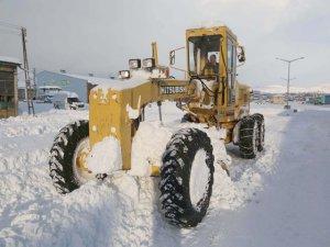 Tuşba Belediyesi'nden karla mücadele seferberliği