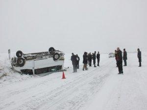 Bingöl'de trafik kazası: 10 yaralı