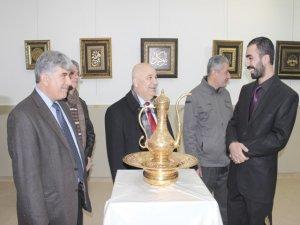 Türkiye'de ilk defa tombak sergisi açıldı