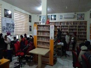 İnterneti en fazla kullanılan ikinci kütüphane Ergani'de
