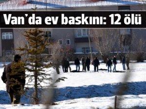 Van'da çatışma: 1 polis ile 12 PKK üyesi yaşamını yitirdi