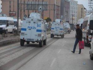 Yüksekova'da polisiye hareketlilik