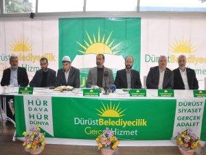 HÜDA-PAR Diyarbakır'da başkan adaylarını tanıttı