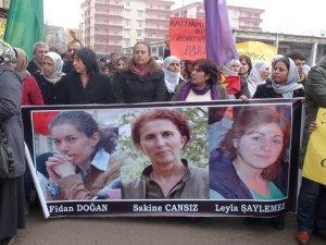 Üç Kürt siyasetçi kadın Türkiye'nin birçok yerinde anıldı