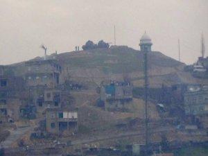 Siirt'in tepelerine tanklar konuşlandırıldı