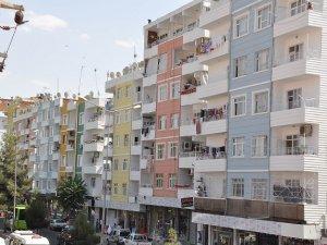 Sunay caddesindeki bina giydirme çalışmaları tamamlandı