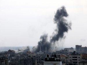 İsrail Filistin'e hava saldırısı düzenledi