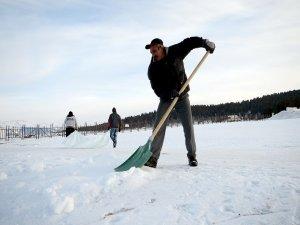 Cıbıltepe'ye, kar takviyesi
