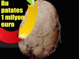 Bu patates 1 milyon euro