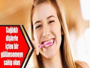 Sağlıklı dişlerle içten bir gülümsemeye sahip olun