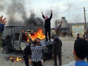 Enbar'da IŞİD militanları ile güvenlik güçleri çatıştı