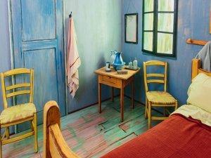 Van Gogh'un yatak odası kiralık!