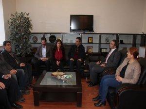 BDP heyetinin DTSO ziyareti