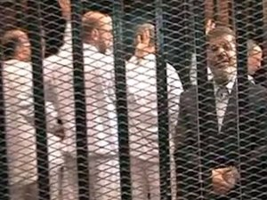 Devrik lider Mursi'nin duruşması 3 dakika sürdü