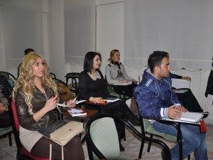 Diyarbakır kızları uçmayı öğreniyor