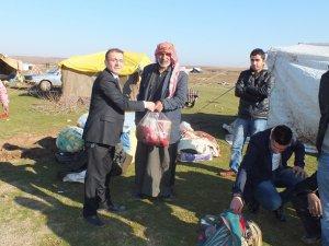 Bismil'de Suriyelilere yardım