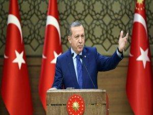 Erdoğan'dan polis teşkilatına tam destek