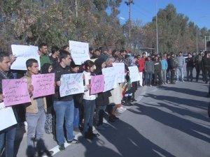 Mülteci çocuğa tecavüz, Hewlêr'de protesto edildi