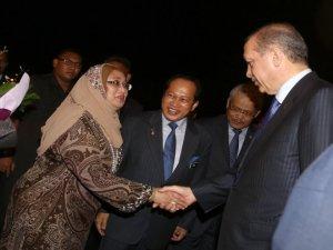 Türkiye ve Malezya'nın ortak hedefi