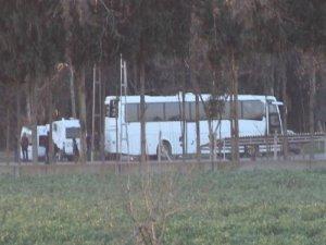 Mühimat otobüsleri Özel Harekat'ta  bekletiliyor