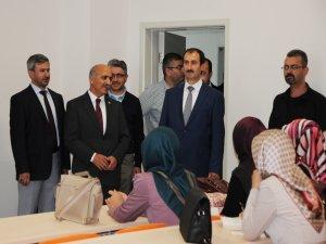 Şırnak Üniversitesi öğrencileri, Batman'da Telafi Eğitiminde