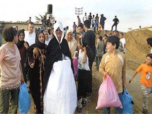 Çatışmalar 13 bin kişiyi göç ettirdi
