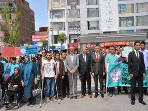 Van'da Engelliler Haftası Etkinliği