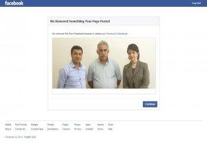 Facebook MED NUÇE sayfasını sansürledi