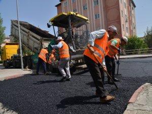 Diyarbakır'da asfalt sezonu açıldı