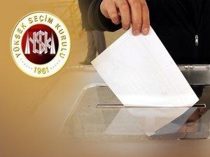 YSK, seçmen kütüklerinin verileceği partileri belirledi