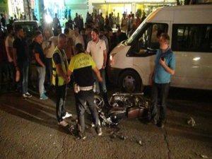 Batman'da motosiklet kazası: 2 yaralı