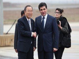 Ban Ki-moon Federe Kürdistan'da