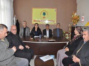 HDP Adıyaman'da BDP'yi destekleyecek