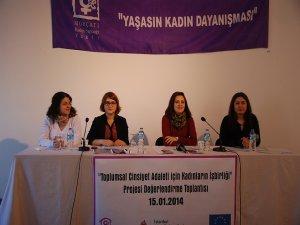 'Kadınların İşbirliği' projesi tamamlandı