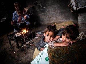 Kamptaki mültecilerin yaşam mücadelesi