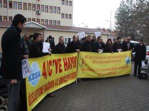Diyarbakır'da 2014 zammı protesto edildi