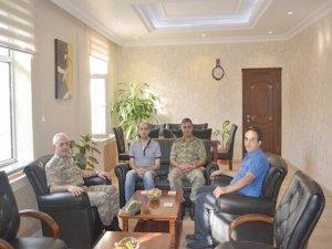 Tuğgeneral Güney, Sason'u ziyaret etti