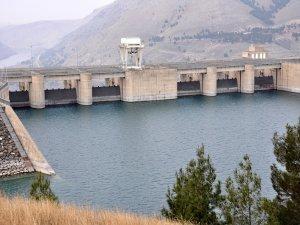 Atatürk barajında su seviyesi arttı
