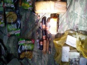 PKK'ye ait 15 metre uzunluğunda sığınak tespit edildi