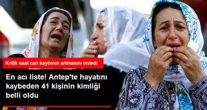 'Canlı Bomba' Saldırısında Hayatını Kaybeden 41 Kişinin Kimliği Belli Oldu