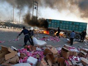 Suriye'de yine varil bombası: 60 ölü