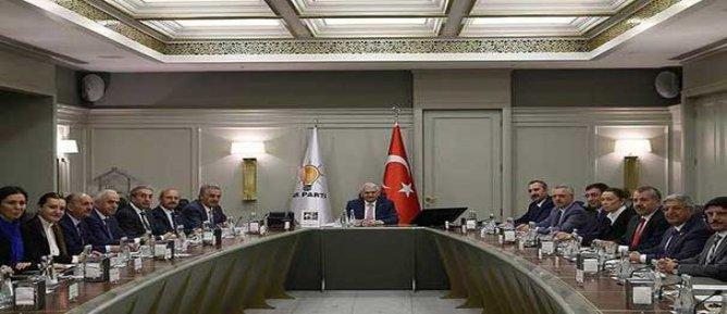 AK Parti MYK toplandı: Gündem Fırat Kalkanı operasyonu